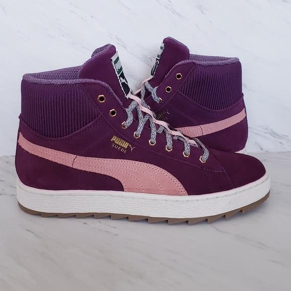 Puma Shoes   Puma Suede High Top
